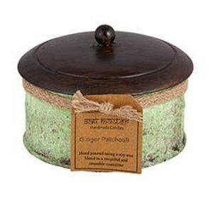 2 Wick Ginger Patchouli Candle
